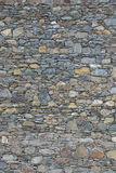 Stone wall. A shot of a stone wall as a background Royalty Free Stock Image