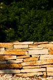Stone-Wall Fotografia de Stock