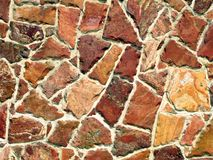 Stone wall. Of a house Royalty Free Stock Photo