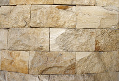 Stone Wall. Wall made of stone bricks Stock Image