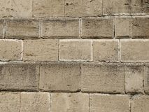 Stone wall. Brick Stone Wall Old Building royalty free stock photo
