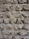 Stone wall. In Dubai museum Stock Photos