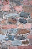 Stone wall. At old church Royalty Free Stock Photography
