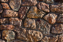 Stone wall. Background of textured stone wall Royalty Free Stock Photo