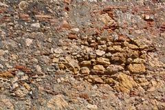 Stone wall. In Baracoa, Cuba Stock Photo