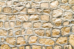 Stone wall. Close up shot of old stone wall royalty free stock image