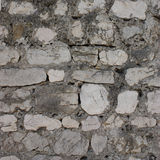Stone wall. Close-up of a white stone wall Royalty Free Stock Images