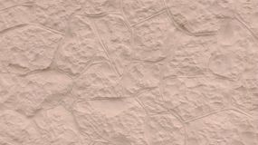 Texture of the cream stone wall royalty free stock image