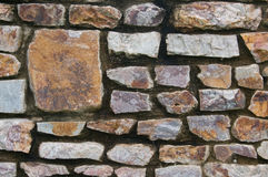 Stone wall. An old dirty  stone wall background Royalty Free Stock Photo