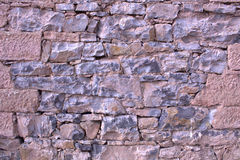 Stone wall. From an old house Stock Image