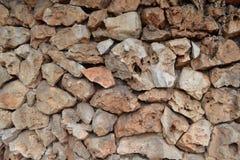 Stone wall. Closeup photo of stone wall Royalty Free Stock Photography