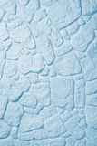 Stone wall. Light blue stone wall as background Royalty Free Stock Photography