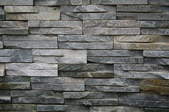 Stone wall. Closeup of stone wall use for construction business and designers Stock Image