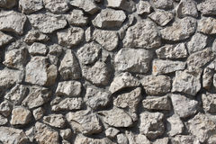 Stone Wall. Closeup photo of stone wall Stock Photography