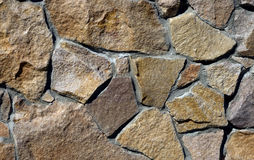 Stone wall. Wall constructed of a stone Royalty Free Stock Image