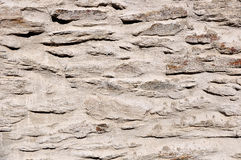 Stone Wall. Close up detail of a stone wall texture Stock Image