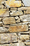 Stone wall. Background of stone wall old Royalty Free Stock Photos