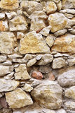 Stone wall. Background of stone wall old Royalty Free Stock Photo