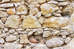 Stone wall. Background of stone wall old Royalty Free Stock Images