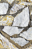 Stone wall. Background of stone wall detail Stock Photo