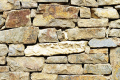 Stone wall. Background of stone wall rustic Stock Photography