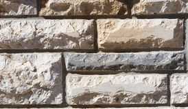Stone wall. Of stone bricks Stock Image