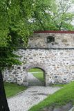 Stone Wall. At akershus festning, Oslo Norway Royalty Free Stock Photography