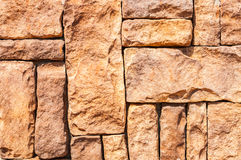 Stone wall. Of various size stone for background Stock Image