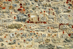 Stone Wall. From a historical building Royalty Free Stock Photos