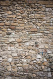 Stone wall. Closeup of old stone wall stock photo