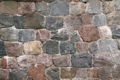 Stone wall Royalty Free Stock Photo