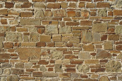 Stone wall. The old stone wall texture Royalty Free Stock Photos
