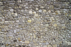 Stone wall. Old english stone wall background Royalty Free Stock Photos