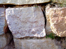 Stone Wall. Is a wall made of big stones royalty free stock photo