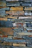 Stone Wall. Closeup of stone wall Royalty Free Stock Photo