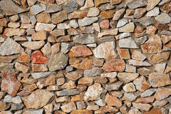 Stone wall. Very old stone wall structure Stock Image