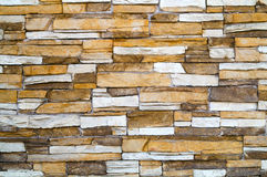 Stone wall. Old fashioned stone wall background Stock Images