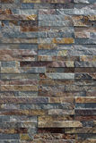 Stone Wall. Close-up view of a dry-stone wall Royalty Free Stock Images