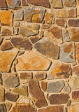 Stone Wall. Detail of a stone wall Stock Photos