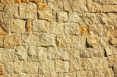 Stone wall. Ancient stone wall until now still in use in Chinese many places Stock Photos