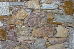 Stone wall. Texture stock photography