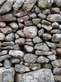 Stone Wall. Close-up of dry stone wall in the Lake District, UK Stock Images