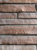 Stone wall. Color and texture of a stone wall Stock Photography