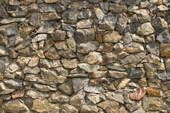 Stone wall. Wall from a natural stone Royalty Free Stock Photo