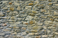 Stone wall. Close up photo of a stone wall royalty free stock photos