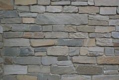 Stone wall. A Stone wall gray texture Royalty Free Stock Photos