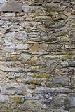 Stone wall. Close up of a stacked stone facade Royalty Free Stock Photos