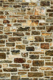 Stone wall. A stone wall of different textures royalty free stock photography
