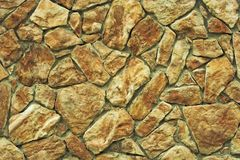 Stone Wall. Background texture Royalty Free Stock Photo