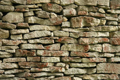 Stone wall. Old slate wall Royalty Free Stock Photos